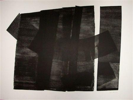 Lithograph Hartung - Composition 1