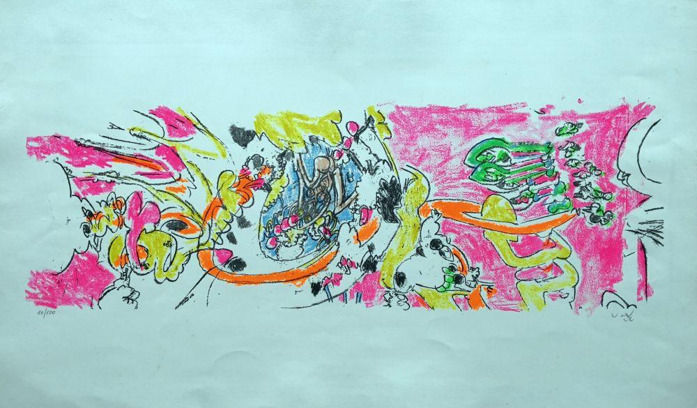 Lithograph Matta - Composition 1