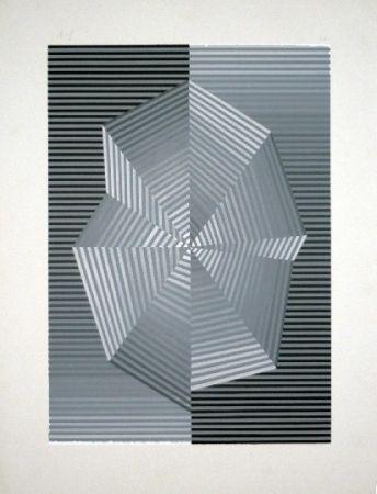 Screenprint Sempere - Composition 1