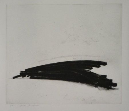 Etching And Aquatint Venet - COMPOSITION 1