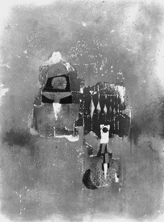 Engraving Friedlaender - Composition 1