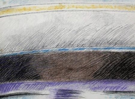 Lithograph Ràfols Casamada - Composition 1