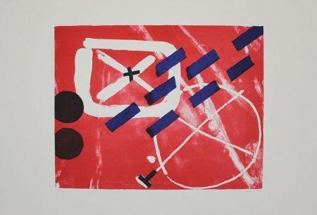 Lithograph Gräsel - Composition 1