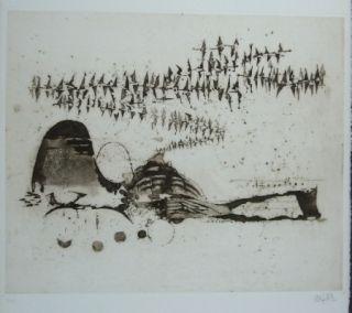 Etching Friedlaender - Composition 11