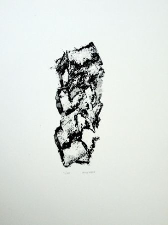 Lithograph Michaux - Composition 114