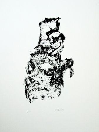 Lithograph Michaux - Composition 115