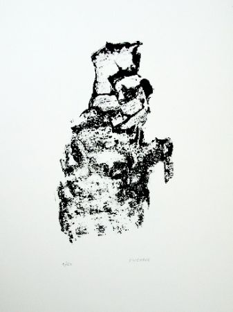 Lithograph Michaux - Composition 115