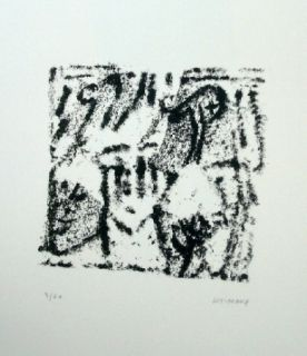 Lithograph Michaux - Composition 119