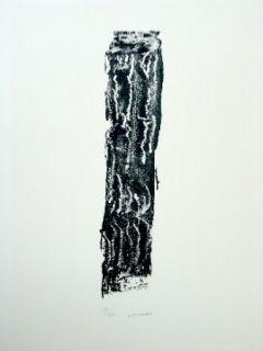 Lithograph Michaux - Composition 124