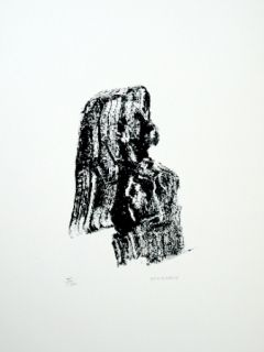 Lithograph Michaux - Composition 125