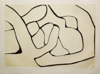 Etching And Aquatint Marca Relli - Composition 15