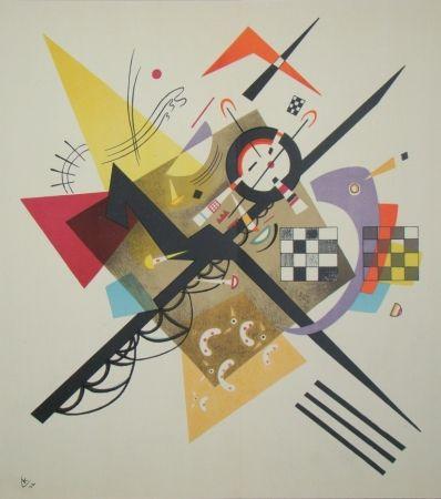 Lithograph Kandinsky - Composition, 1922