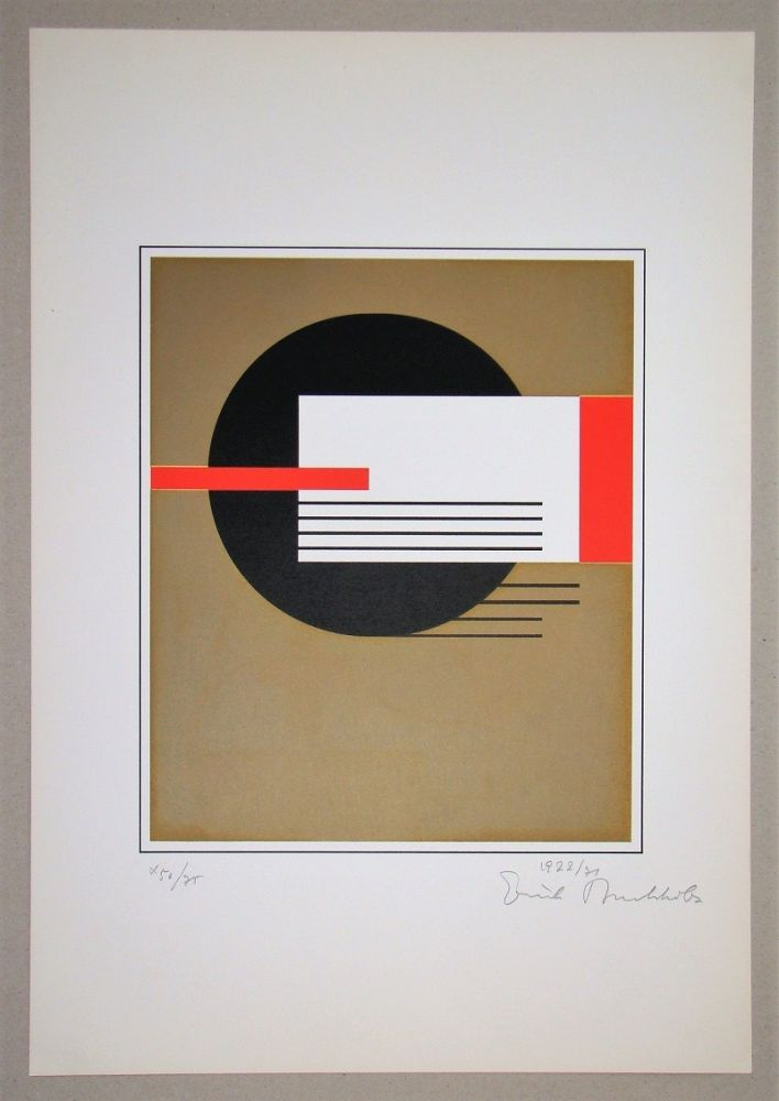 Screenprint Buchholz - Composition, 1922