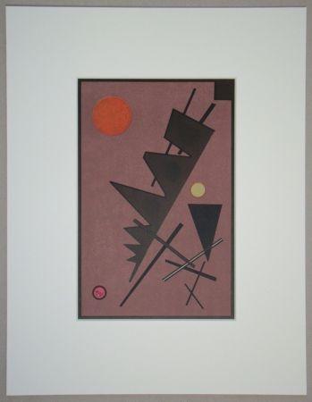 Lithograph Kandinsky - Composition, 1924