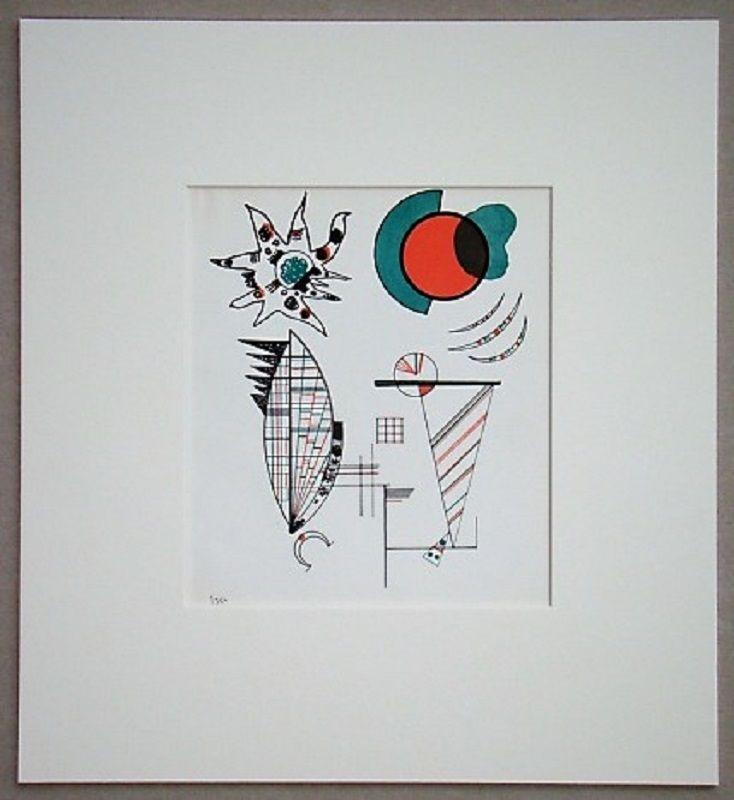 Lithograph Kandinsky - Composition, 1934