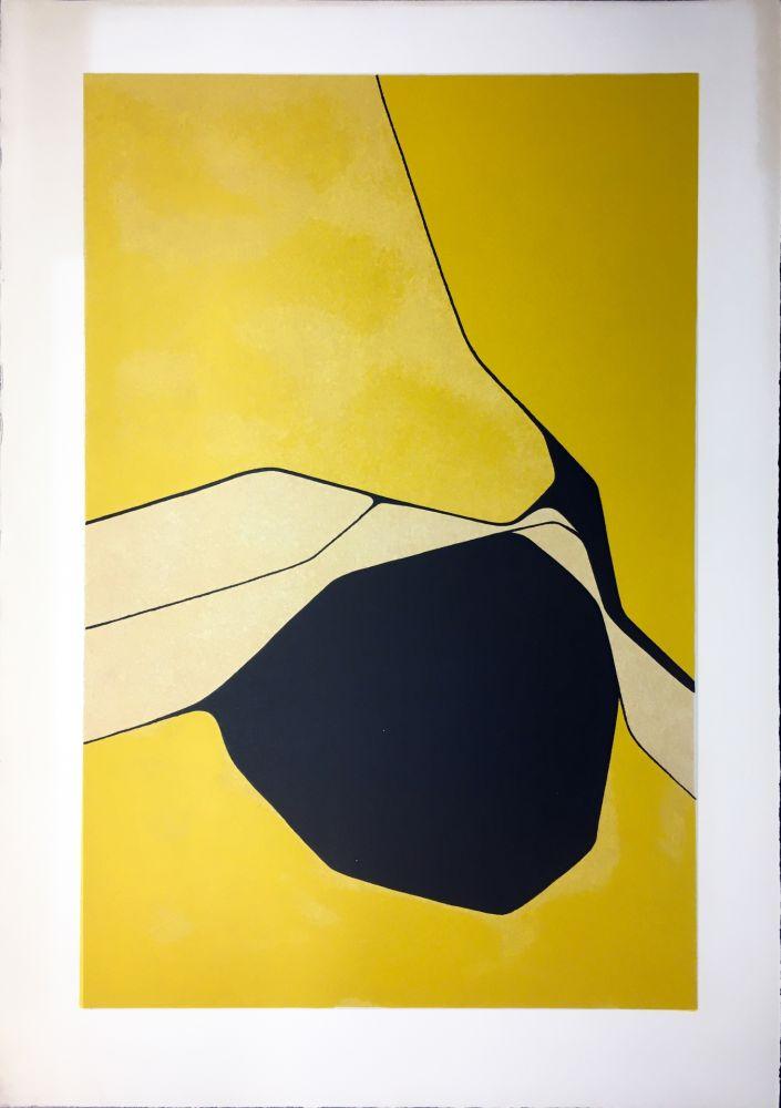 Lithograph Palazuelo - Composition 1963