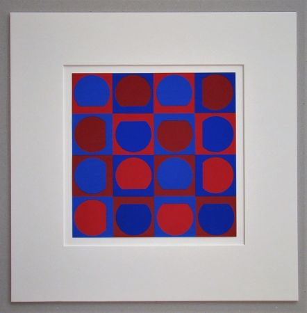 Screenprint Vasarely - Composition 1964
