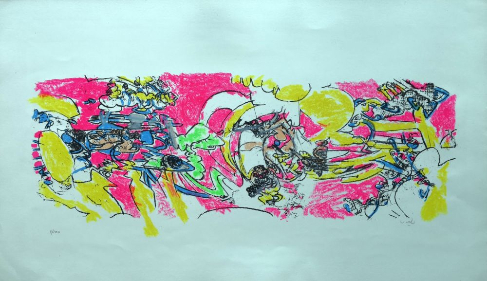 Lithograph Matta - Composition 2