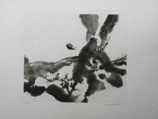 Etching And Aquatint Zao - Composition 2