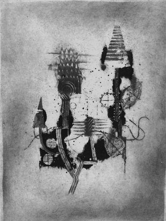 Engraving Friedlaender - Composition 2