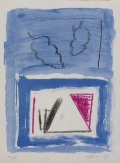 Lithograph Ràfols Casamada - Composition 21