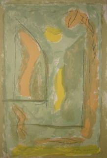 Lithograph Ràfols Casamada - Composition 26