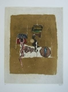 Etching Friedlaender - Composition 27