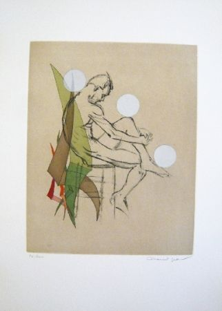 Etching And Aquatint Jean - Composition