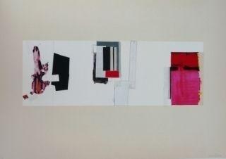 Lithograph Garcia-Ponce - Composition 3