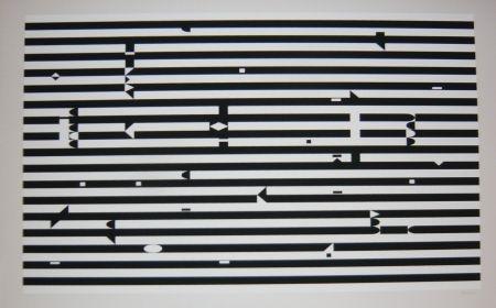 Screenprint Agam - Composition 3
