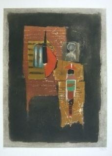 Etching Friedlaender - Composition 3