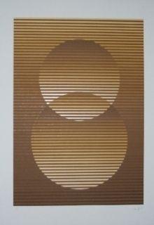 Screenprint Sempere - Composition 3