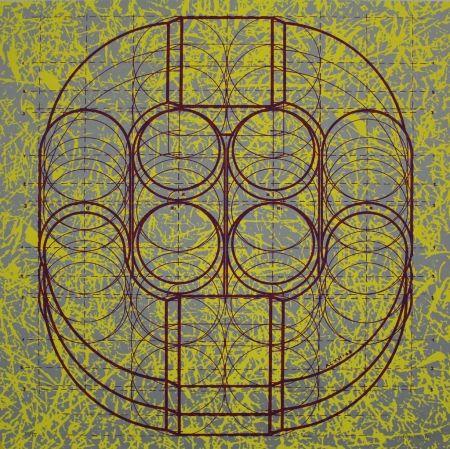 Lithograph Gräsel - Composition 3