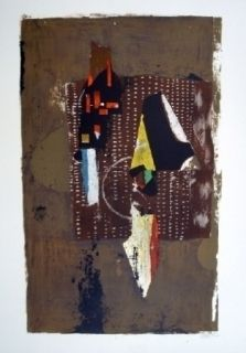 Lithograph Friedlaender - Composition 30