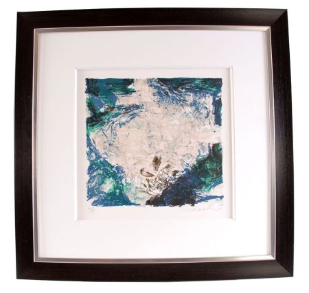 Lithograph Zao - Composition 319