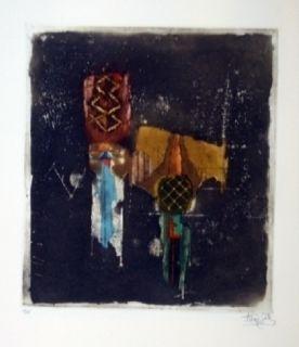 Etching Friedlaender - Composition 37