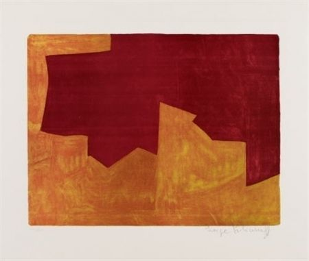 Lithograph Poliakoff - COMPOSITION 39