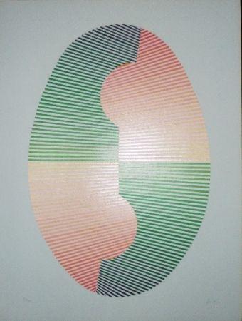 Screenprint Sempere - Composition 4