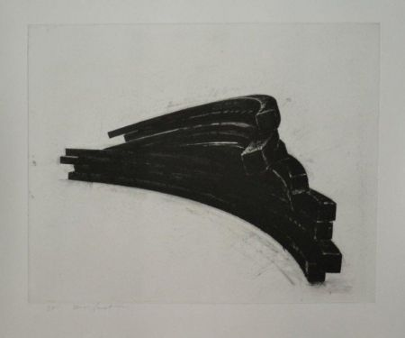 Etching And Aquatint Venet - COMPOSITION 4