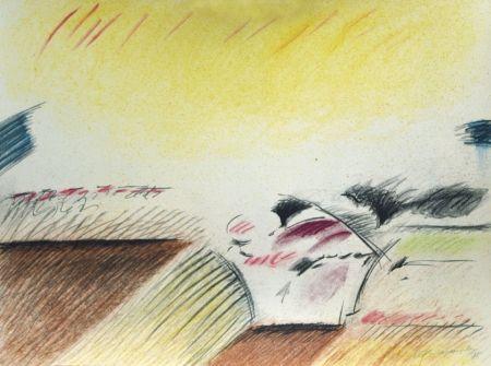 Lithograph Ràfols Casamada - Composition 4