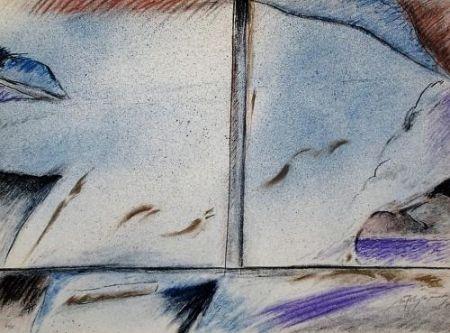 Lithograph Ràfols Casamada - Composition 5