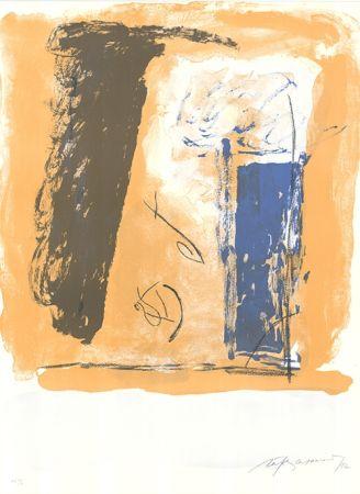 Lithograph Ràfols Casamada - Composition 51