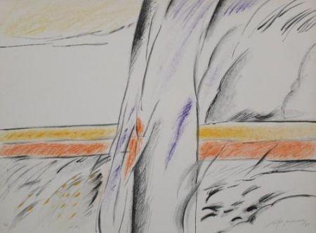 Lithograph Ràfols Casamada - Composition 6