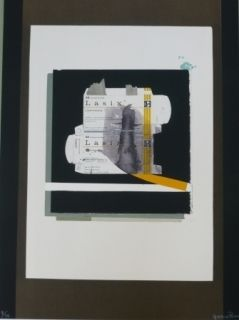 Lithograph Garcia Ponce - Composition 8