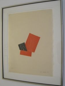 Woodcut Shapiro - Composition A