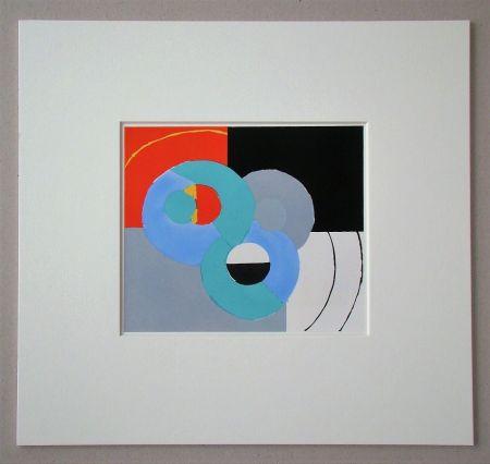 Pochoir Delaunay - Composition abstrait