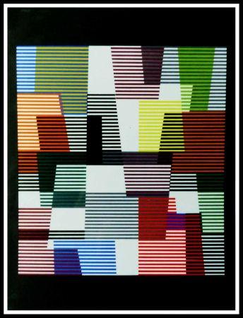 Lithograph Agam - Composition abstraite
