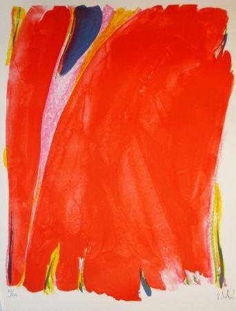 Lithograph Debré - Composition abstraite