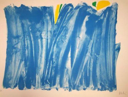 No Technical Debré - Composition bleu et jaune