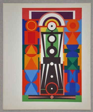 Screenprint Herbin - Composition Christ